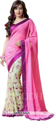 Stella Creation Embriodered Bollywood Handloom Georgette Sari