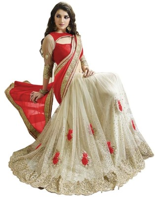 Nine Sister Embellished Fashion Pure Silk Sari