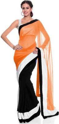 Bapasitaram Fashion Embriodered Bollywood Pure Georgette Sari