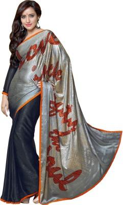 Senorita Fashion Printed Fashion Jacquard Sari