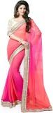Glory Sarees Self Design Bollywood Chiff...