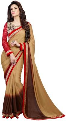 Blissta Embriodered Fashion Georgette, Jacquard Sari