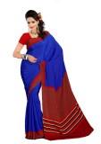 Kunal Self Design Bollywood Pure Crepe S...