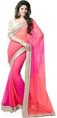Suvidha Fashion Embriodered Bollywood Chiffon Sari