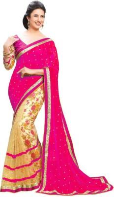 Shiv Fashion Plain Bollywood Georgette Sari