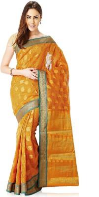 Ankisha Self Design Fashion Cotton Sari