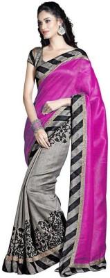Nyalkaran Self Design Bhagalpuri Cotton Sari