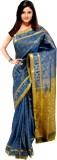 Sonam Self Design Dharmavaram Silk Saree...