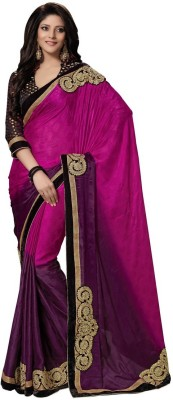 RG DESIGNERS Embriodered Fashion Jacquard Sari