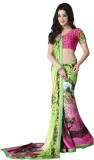 Lovely Look Printed Daily Wear Satin, Ch...