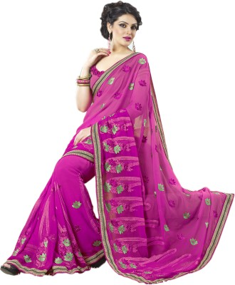 Sanjewga Collection Embellished Fashion Chiffon Sari