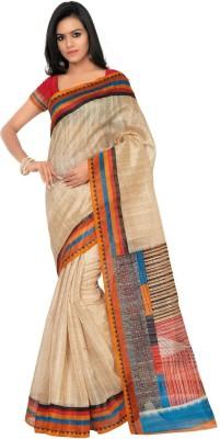 Desi Look Solid Bollywood Art Silk Sari