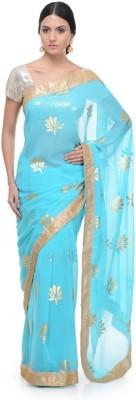 Aarohii Embriodered Bollywood Georgette Sari