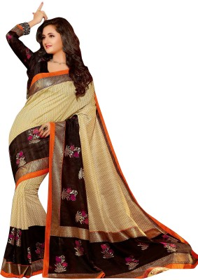 Ishin Prints Printed Fashion Art Silk Sari