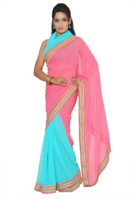 Vibhuti Sarees Self Design Fashion Synthetic Sari