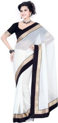 Kyara Plain Bollywood Chiffon Sari