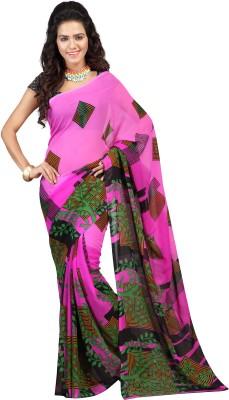 Rajesh Silk Mills Printed Fashion Art Silk Sari