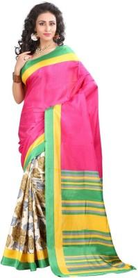 DWM Printed Fashion Art Silk Sari