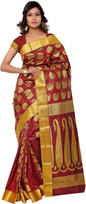 Vastrani Self Design Fashion Art Silk Sari