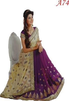 M.D's collection Self Design Bollywood Silk Sari