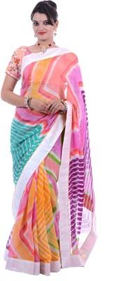 Ridhi-Impex Printed Fashion Handloom Georgette Sari