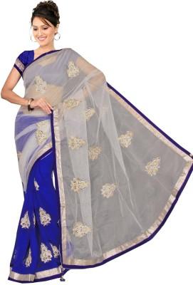 Mamta Synthetic Embriodered Bollywood Chiffon Sari