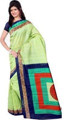 Monu Silk Mills Self Design Bhagalpuri Art Silk Sari