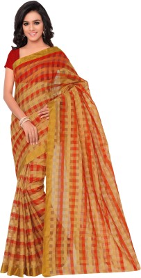 7 Colors Lifestyle Self Design Daily Wear Net Sari
