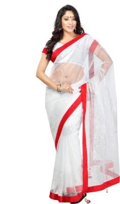 Sanskar Fashion Self Design Fashion Net Sari
