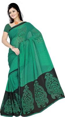 Pawan Tex Printed Fashion Chiffon Sari