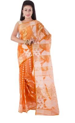 ksc Self Design Jamdani Art Silk Sari