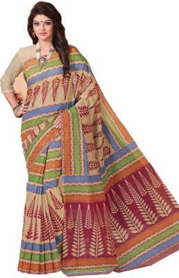 Ooltah Chashma Printed Fashion Cotton Sari