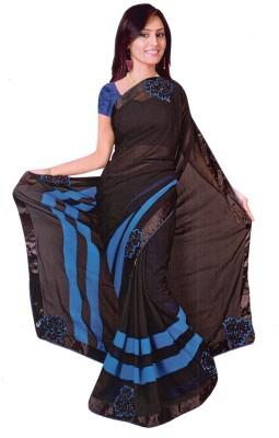 Fency Fession Self Design Fashion Synthetic Georgette Sari