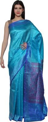 Chhabra Xclusive Self Design Banarasi Viscose Sari