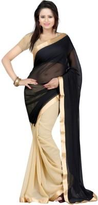 KisnaCreation Self Design Daily Wear Georgette Sari