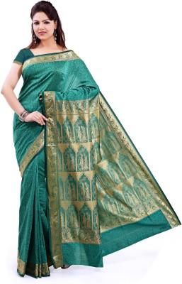 Ishin Printed Art Silk Sari