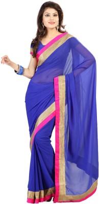 Shukan Saree Self Design Fashion Chiffon Sari
