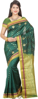 Maxsarees Plain Bollywood Art Silk Sari