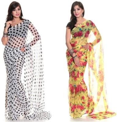 Aaditri Printed Daily Wear Chiffon Sari