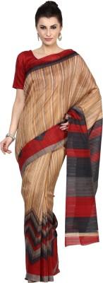 Aagamanfashion Printed Fashion Art Silk Sari