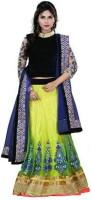 Snv Fashion Chaniya, Ghagra Cholis - SNV Fashion Solid Women's Lehenga, Choli and Dupatta Set(Stitched)