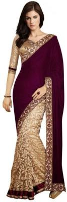 Shayon Embriodered Bollywood Brasso Sari