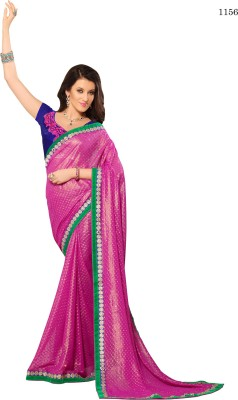 Allol Embriodered Fashion Synthetic Georgette Sari