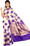Indian Silks Checkered Kanjivaram Handlo...