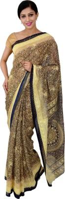 Urban Style Printed Bhagalpuri Handloom Art Silk Sari