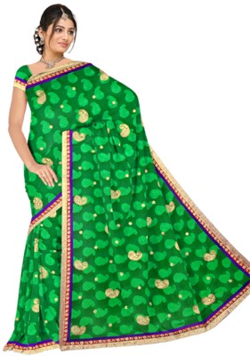 Utsava Self Design Bollywood Jacquard Sari