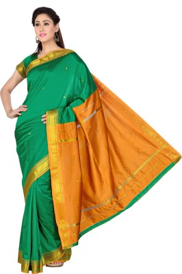 Studio Shringaar Woven Arani Pattu Art Silk Sari
