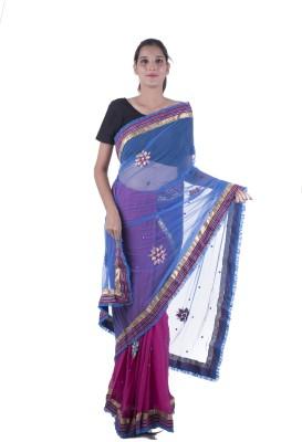 Surbhi Embriodered Fashion Pure Georgette Sari