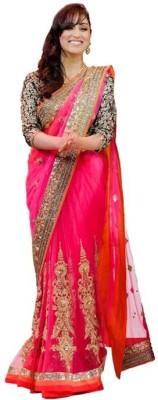 Stylezone Embriodered Fashion Net Sari