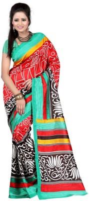 Panchi Printed Fashion Art Silk Sari